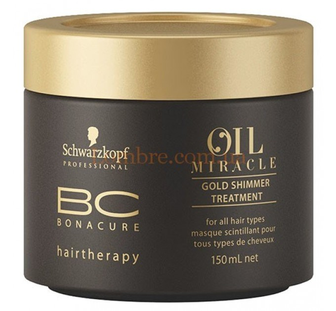 Schwarzkopf BC OM Gold Shimmer Treatment - Маска Золотое сияние