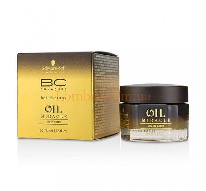 Schwarzkopf BC OM Oil-In-Gelee - Масло-желе для ухода и укладки волос