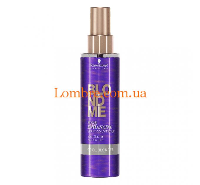 Schwarzkopf Blond Me Tone Enhancing Spray Conditioner Cool Blondes - Спрей-кондиционер для холодных оттенков блонд