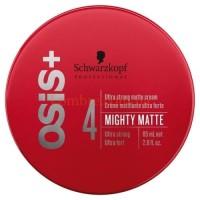 Schwarzkopf Osis Mighty Matte - Ультрасильный матирующий крем для волос