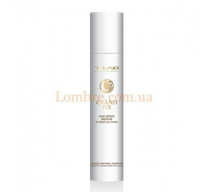 T-LAB Professional Grand Fix Hair Spray Medium - Спрей для волос средней фиксации