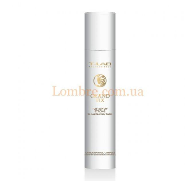 T-LAB Professional Grand Fix Hair Spray Strong - Спрей для волос сильной фиксации