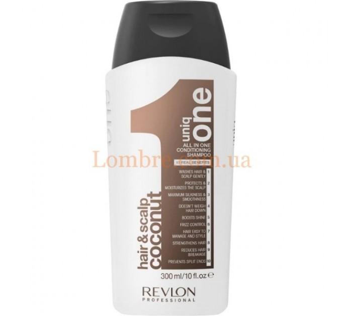 Uniq One Coconut Flower Conditioning Shampoo - Шампунь-кондиционер с ароматом кокоса
