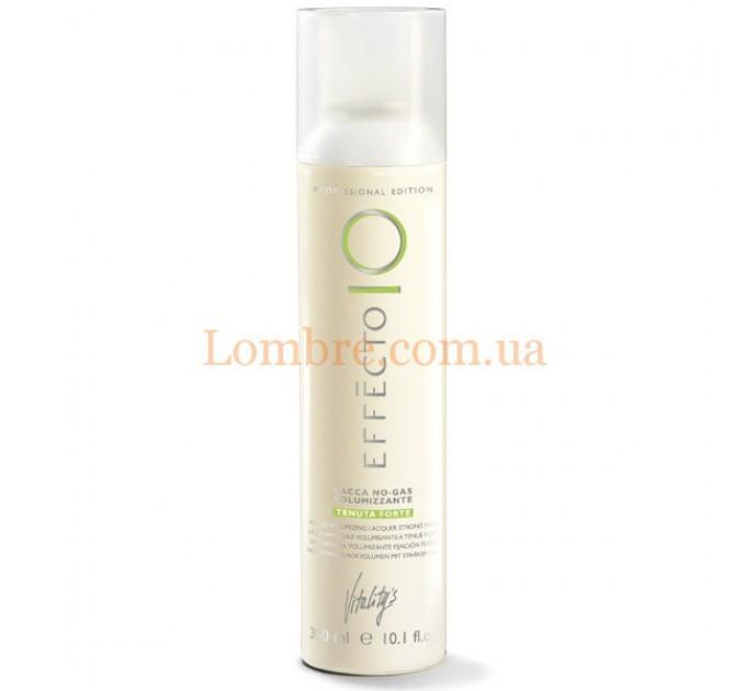 Vitality's Effecto Lacca No Gas Volumizzante Tenuta Forte - Профессиональный лак для волос сильной фиксации без газа