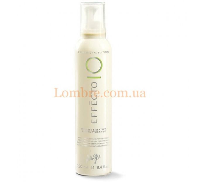 Vitality's Effecto Mousse Fissativa Ristrutturante - Профессиональный мусс для укладки волос любой сложности