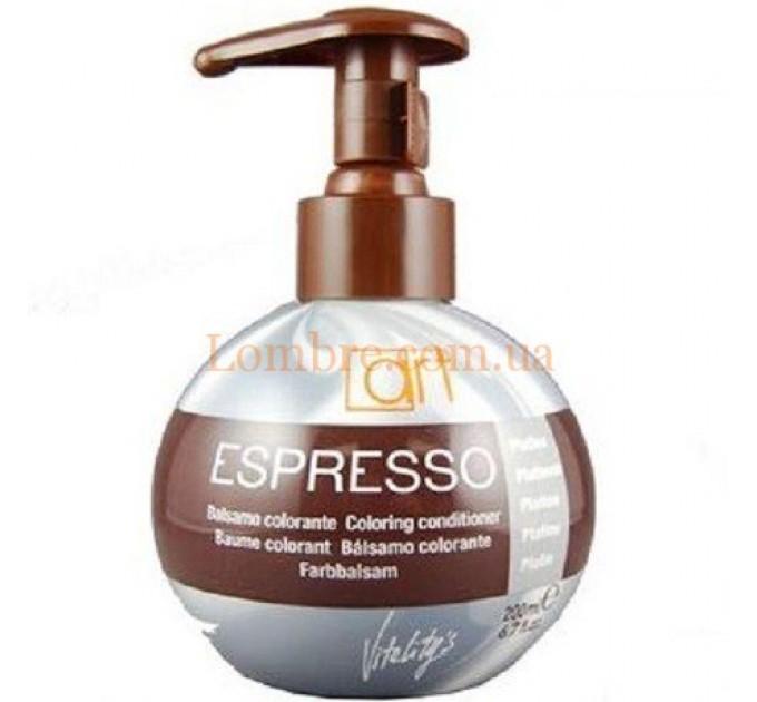 Бальзам с окрашивающим эффектом Vitalitys Espresso 200мл