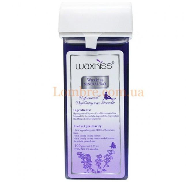 Waxkiss Depilatory Wax Lavender - Теплый воск в картридже Лавандовый